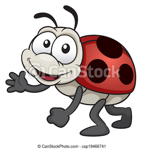 Lady bug - csp19466741