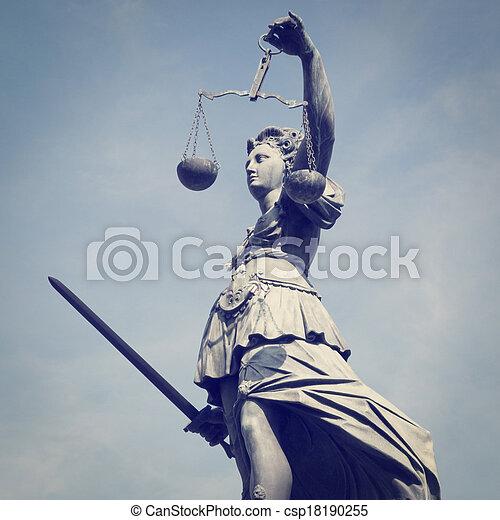 Lady Justice - csp18190255