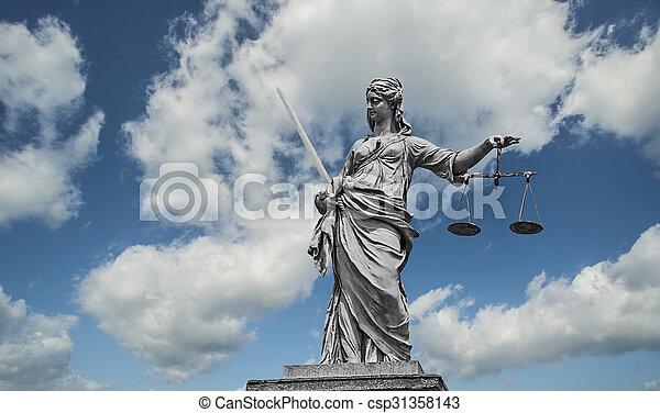 Lady Justice - csp31358143