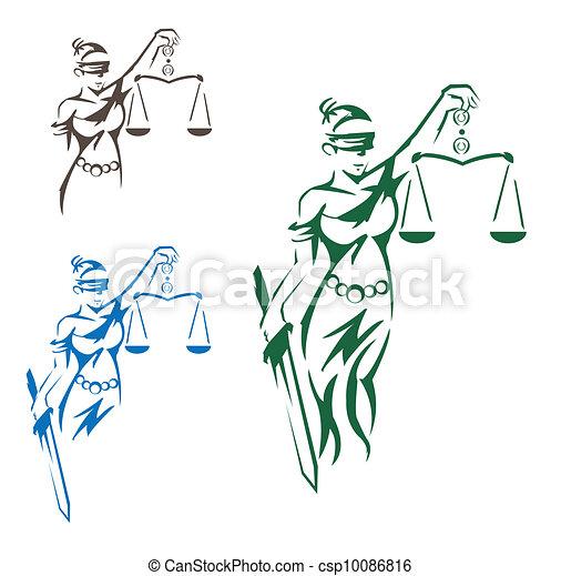 Lady Justice - csp10086816