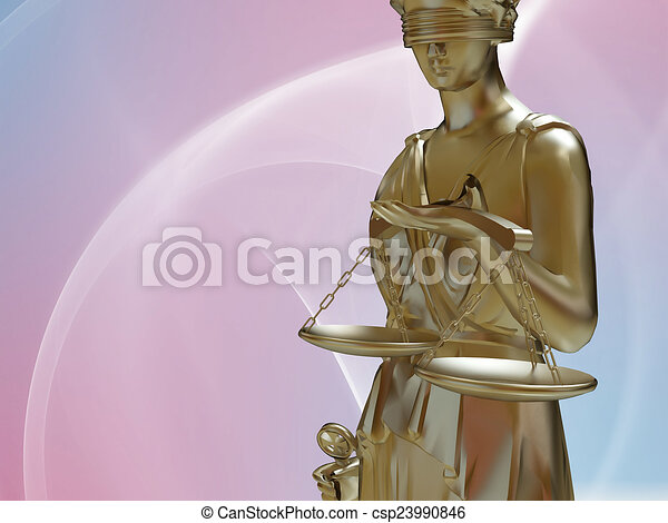 Lady of justice - csp23990846