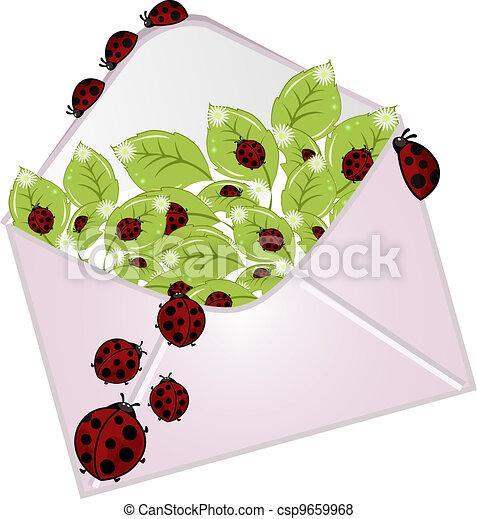 ladybugs, letra - csp9659968