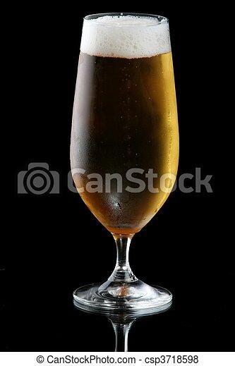lager, glas, öl, eller - csp3718598