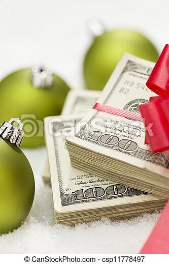 lagförslaget, dollar, bog, agremanger, stack, hundra, jul - csp11778497