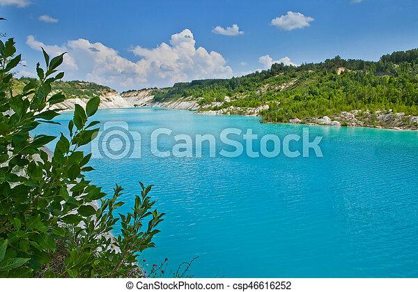 lago blu - csp46616252