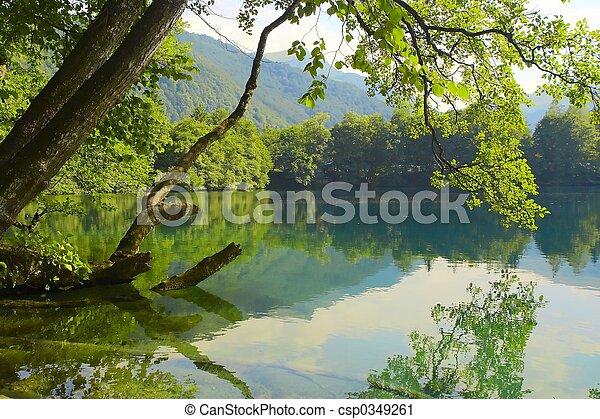 lago blu - csp0349261