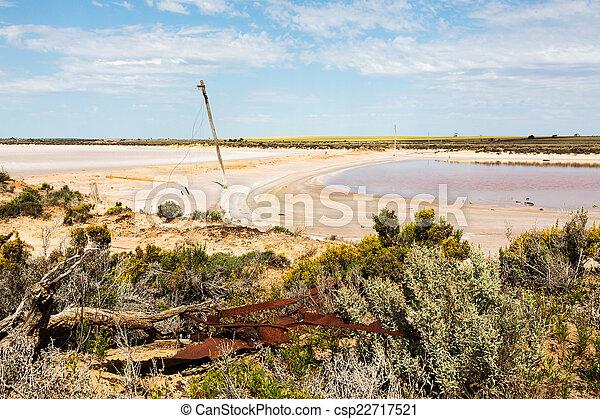 lago, mar, tyrrell - csp22717521