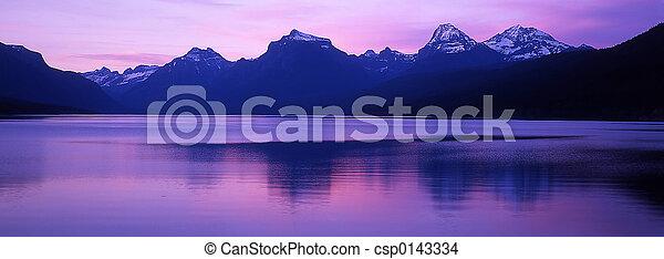 lago mcdonald, muelle - csp0143334