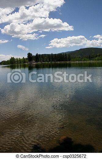 Mountain Lake - csp0325672