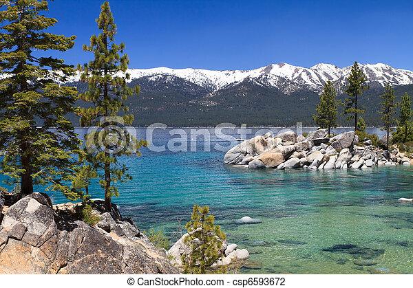 lago tahoe - csp6593672