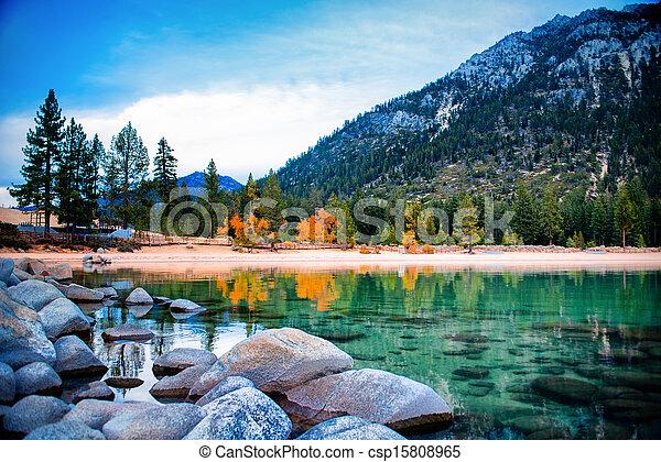 lago tahoe - csp15808965