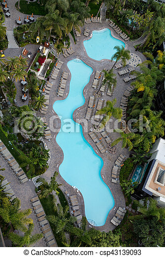 Lagoon Pool from Above