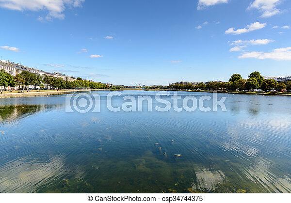 lagos, copenhague - csp34744375