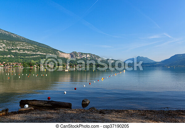 Lake Annecy, France - csp37190205