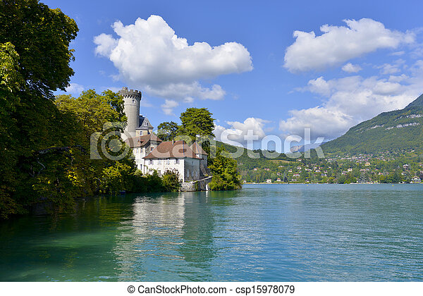 lake Annecy - csp15978079