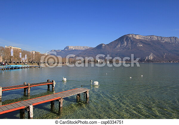 lake Annecy - csp6334751