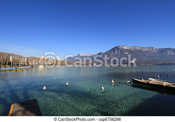 lake Annecy - csp6756298