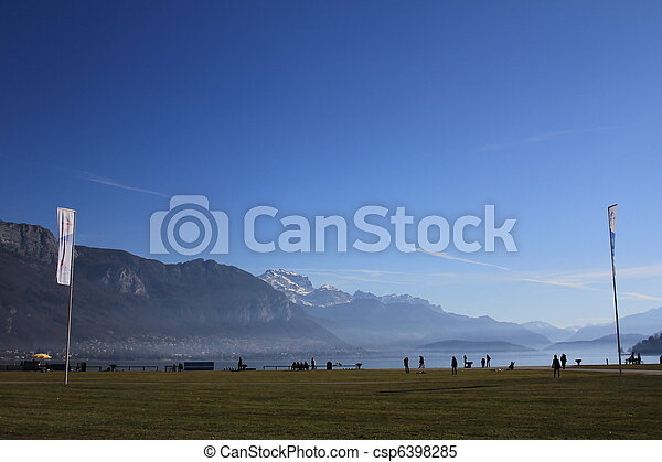 lake Annecy - csp6398285