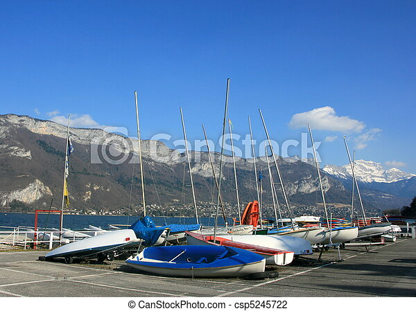 Lake Annecy - csp5245722