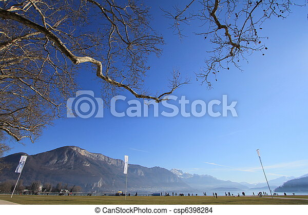 lake Annecy - csp6398284