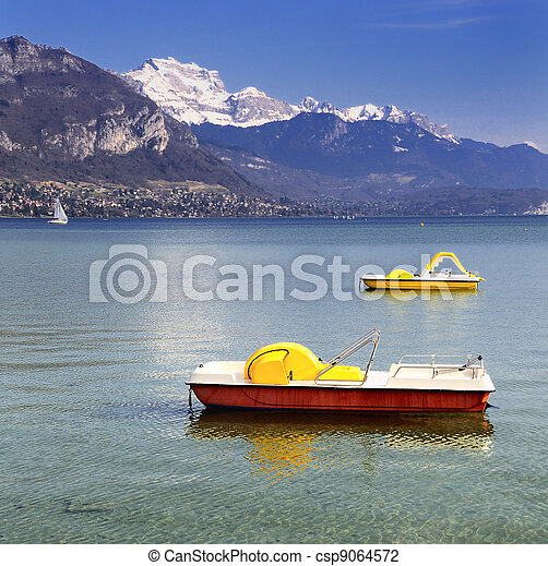 Lake Annecy - csp9064572