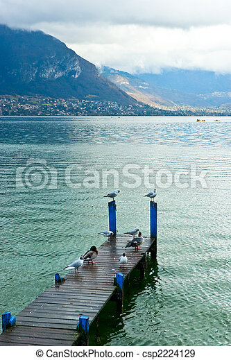 Lake Annecy - csp2224129