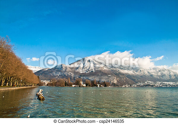 Lake Annecy - csp24146535
