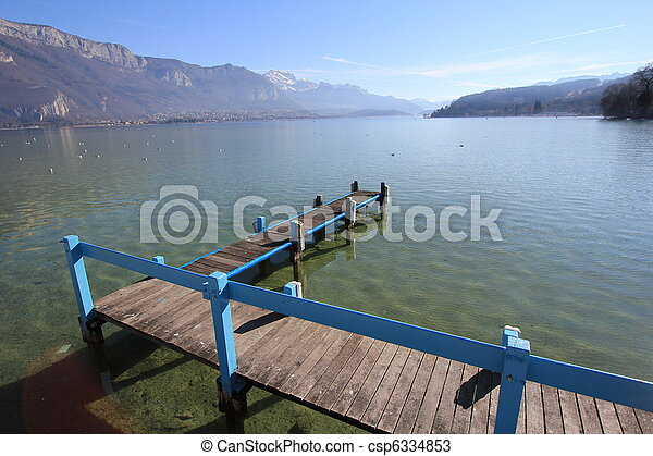 lake Annecy - csp6334853