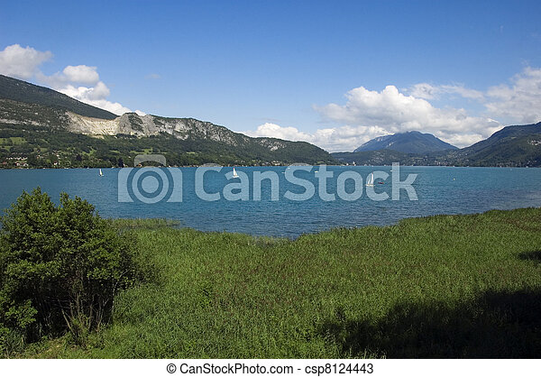 Lake Annecy - csp8124443