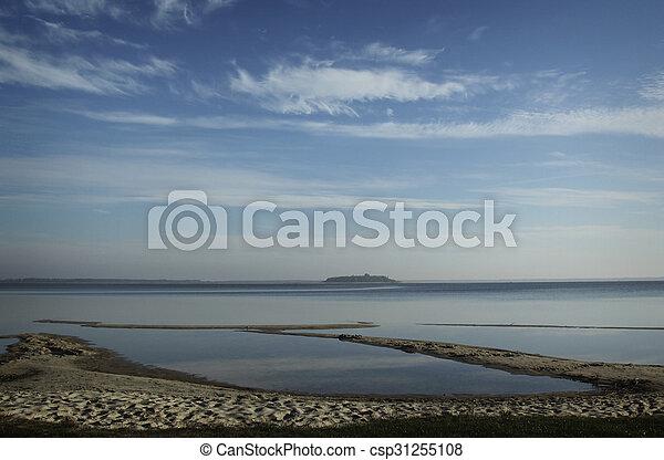 Lake at summer - csp31255108