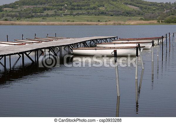 Lake Balaton in Tihany - csp3933288