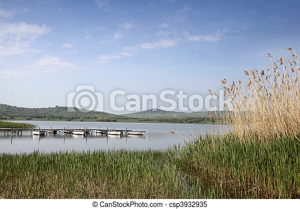 Lake Balaton in Tihany - csp3932935
