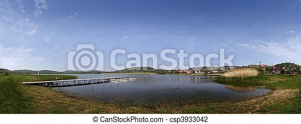 Lake Balaton in Tihany - csp3933042