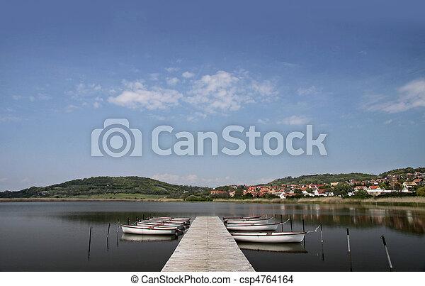 Lake Balaton in Tihany - csp4764164
