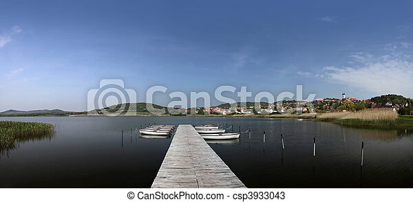 Lake Balaton in Tihany - csp3933043