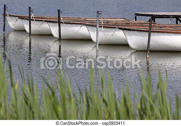 Lake Balaton near Tihany - csp3933411