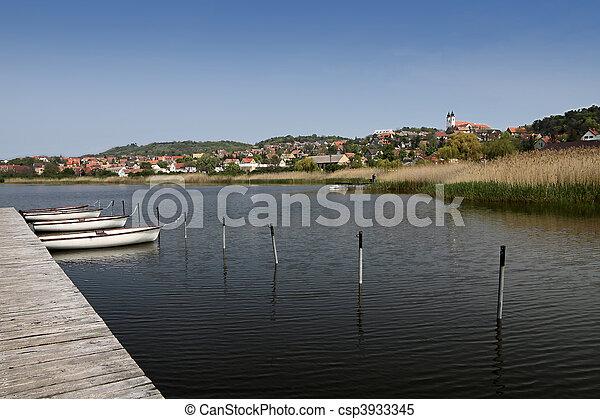 Lake Balaton near Tihany - csp3933345