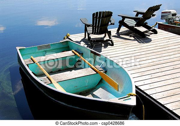 Lake chairs - csp0428686