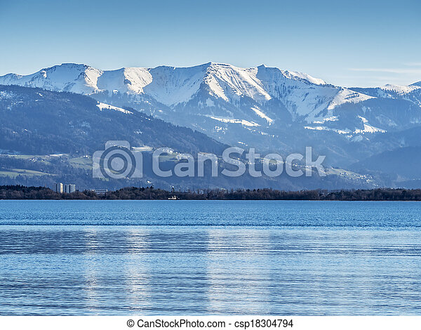 Lake constance Germany - csp18304794