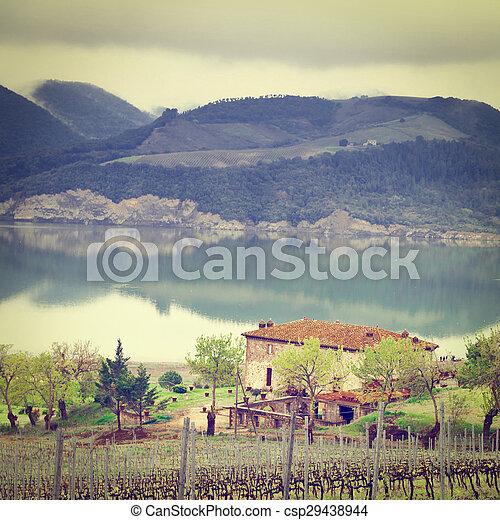 Lake Corbara - csp29438944