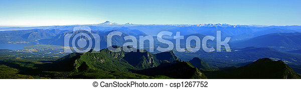 Lake District in Chile - csp1267752