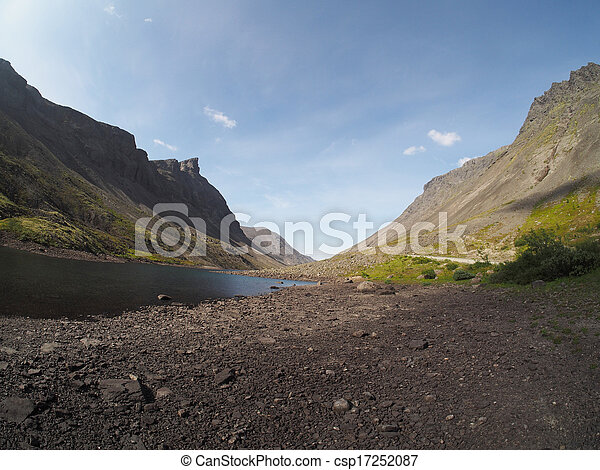 Lake in the mountains - csp17252087