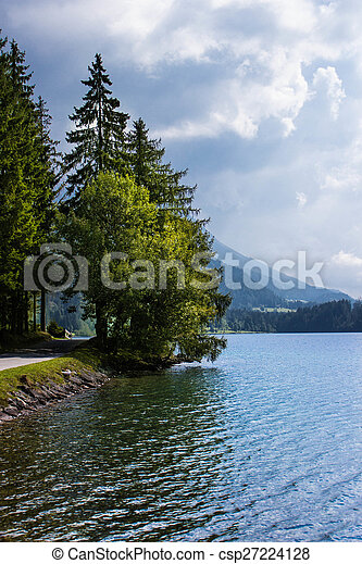 Lake in the mountains - csp27224128
