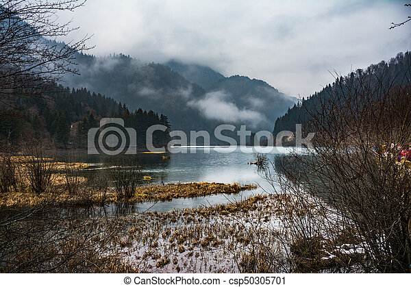 Lake in the mountains - csp50305701