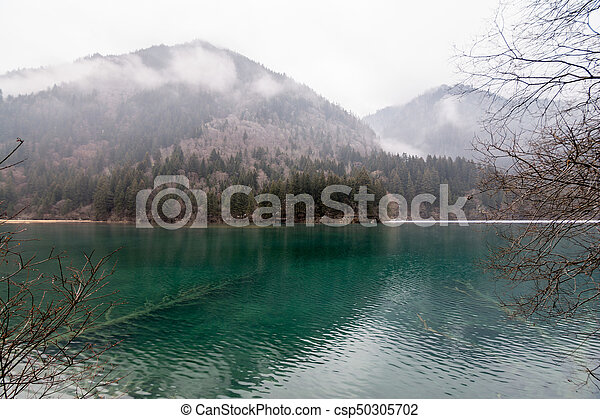 Lake in the mountains - csp50305702
