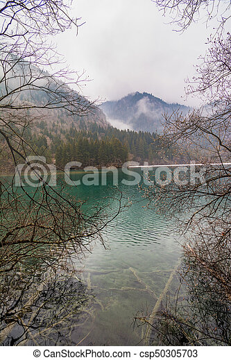 Lake in the mountains - csp50305703