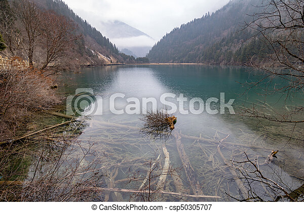 Lake in the mountains - csp50305707