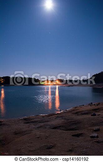 Lake Jocassee sunrise - csp14160192