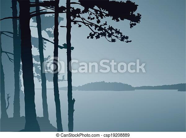 Lake Lookout  - csp19208889