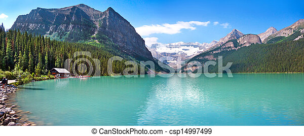 Lake Louise in Alberta, Canada - csp14997499